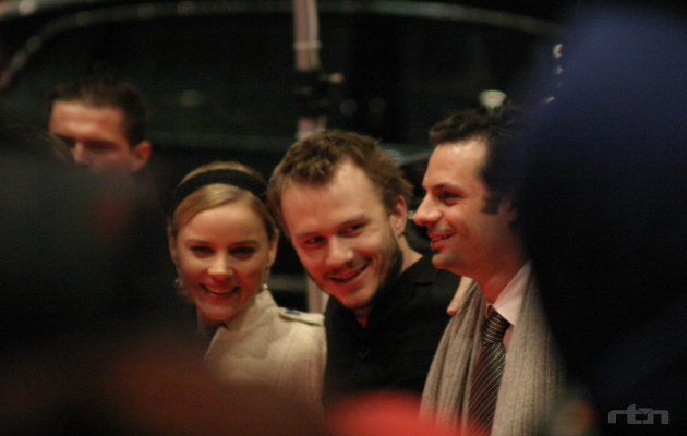 Heath Ledger together with Diane Krueger